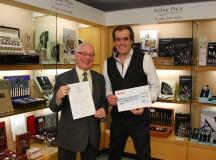 Lichfield Gazette Raises £450 For WLL With 2013 Calendar