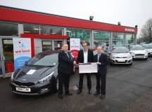 Vroom Vroom.  Acorn Group Announce We Love Lichfield As Charity Of Choice