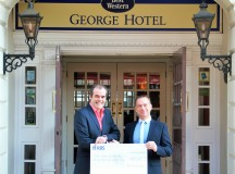 George Hotel Shows Its Love For Lichfield