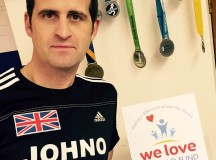 John's marathon effort for We Love Lichfield Fund