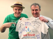 Comedian Signs We Love Lichfield Celebrity T-Shirt