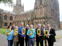 Lichfield Charity Reaches £1/4m Fund Raising Mark