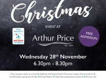 Free Christmas Event At Arthur Price